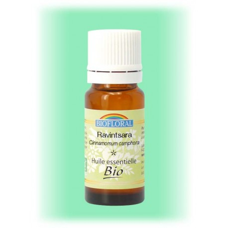 Huile essentielle Ravintsara - Cinnamomum camphora 10 ml