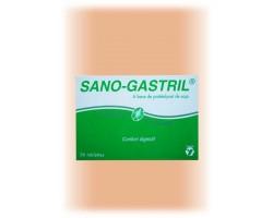 Complément alimentaire pour reflux et lourdeur estomac Sano-Gastril boîte 36 tablettes