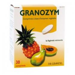 Granozym - Enzymes Végétales 30 comprimés au Goût Exquis