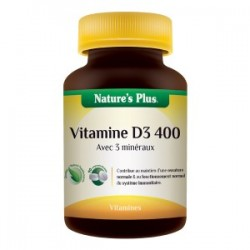 Vitamine D3 400 et ses co-facteurs - 90 comprimés sécables