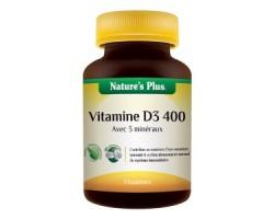 Vitamine D3 400 et ses co-facteurs - 90 comprimés sécables