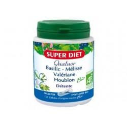 Complément alimentaire complexe de détente Bio - Quatuor 150 gélules