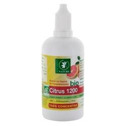 Extrait de pépins de pamplemousse citrus 1200 bio - 100 ml