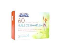 Complément alimentaire Huile de Haarlem véritable 60 capsules enrobées
