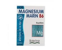 Minéraux magnésium marin et vitamine B6 stress et détente - 40 gélules