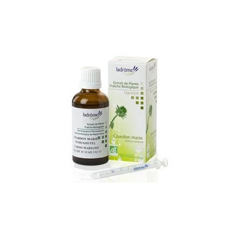 Complément alimentaire soutien du foie extrait de plante fraîche Chardon marie - 50 ml