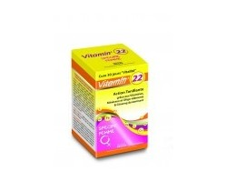 22 Vitamines spécifiques femme - 60 gélules