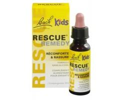 Rescue kids rassurance d'urgence complexe des fleurs de bach sans alcool pour enfant - 10 ml